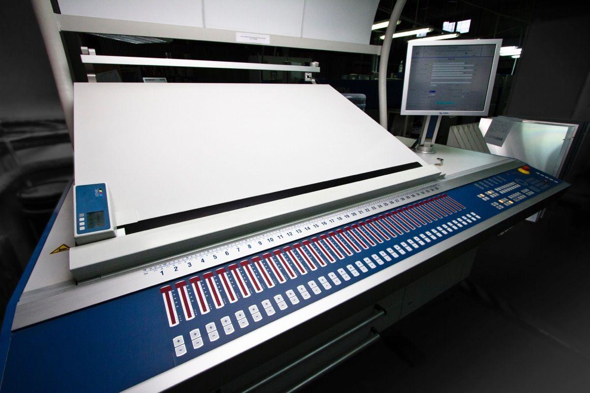 Maszyna Drukujaca Kba B1 10